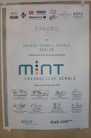 Urkunde_MINT-freundliche_Schule